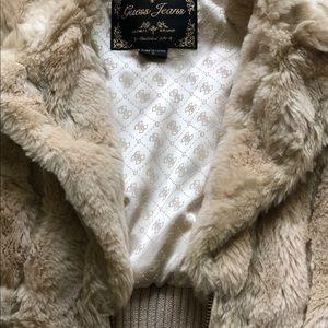 Perfect condition Guess fur vest